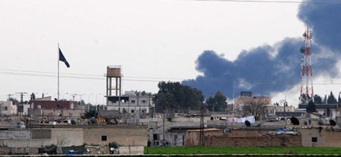 Suriye'nin Telabyad kentinde 2 büyük patlama