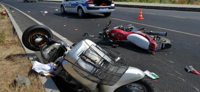 Fethiye'de motosikletler çarpıştı: 2 kişi öldü