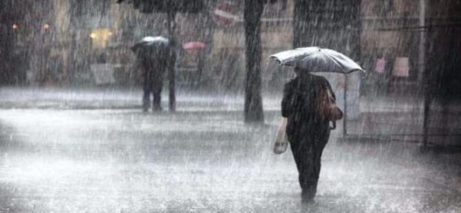 Ege bölgesinde kuvvetli yağış uyarısı