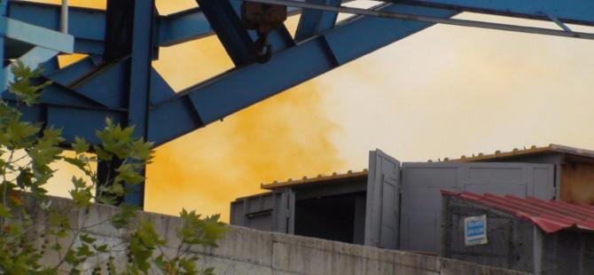 İstanbul'da kimyasal sızıntı