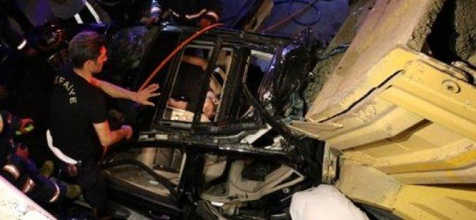 Vatan Caddesinde 2 kaza: 3 ölü