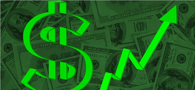 Dolar tarihi rekorla güne başladı