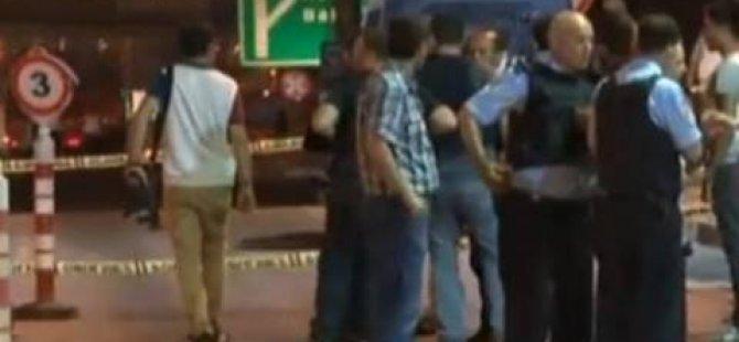 Gişelerde polise silahlı saldırı