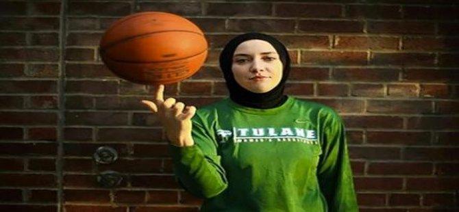 Başörtülü basketbolu kabul ettirdi