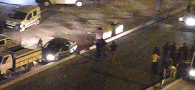 """Kızıltepe'de """"dur"""" ihtarına uymayan otomobili kullanan çocuk vuruldu"""