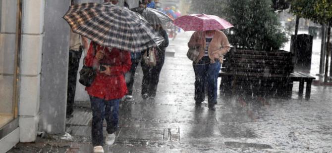 Bayramda yağış beklenen bölgeler