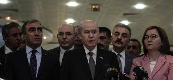 Devlet Bahçeli: Erdoğan'a hayırlı olsun