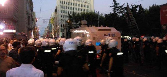 Taksim'de çok sayıda gözaltı!