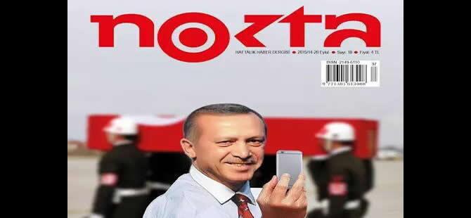 Nokta Dergisi'ne polis baskını!