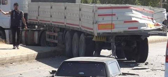 Polis aracı kaza yaptı: 2 şehit