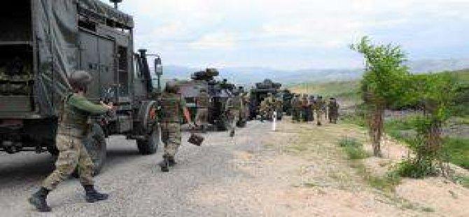 Tunceli'deki operasyon genişletildi