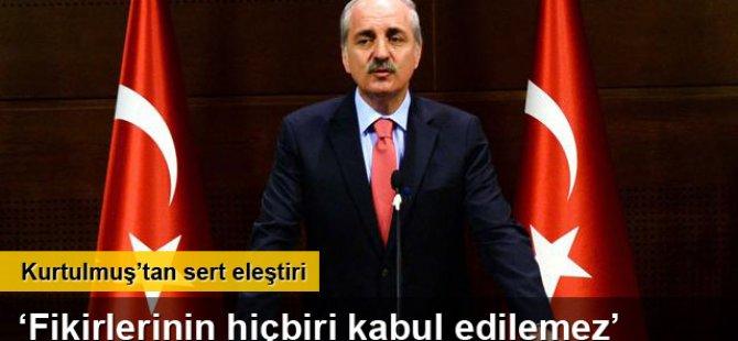Numan Kurtulmuş'tan 'istifa' açıklaması