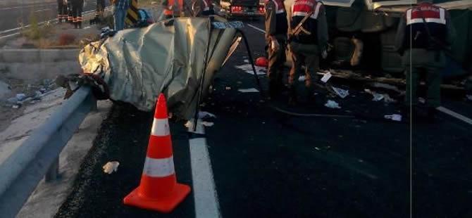 Niğde'de korkunç kaza: 13 Ölü