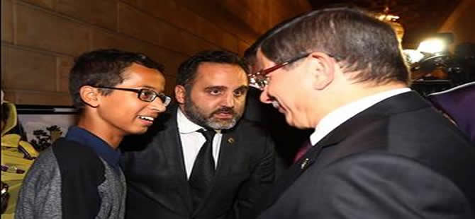 Başbakan Davutoğlu, Ahmed ile görüştü