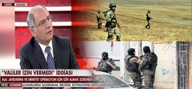 Efkan Ala ASKERi ve POLİSİ suçladı!