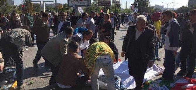 Ankara'da patlama: 30 ölü var