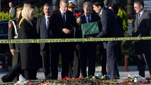 Cumhurbaşkanı Erdoğan, katliam alanında!
