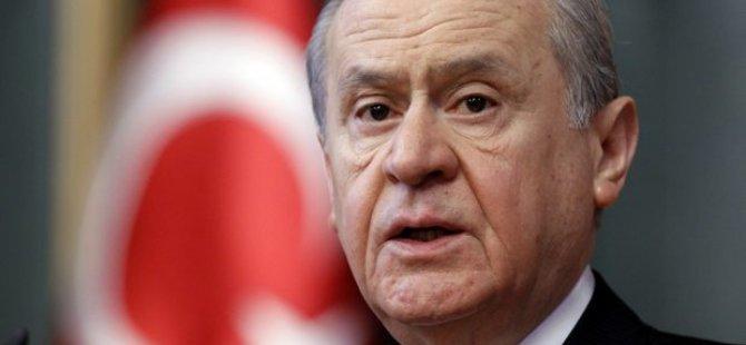 MHP lideri Bahçeli'den çarpıcı açıklamalar!