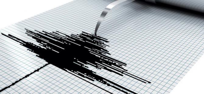 Seferihisar açıklarında 3,9 büyüklüğünde deprem