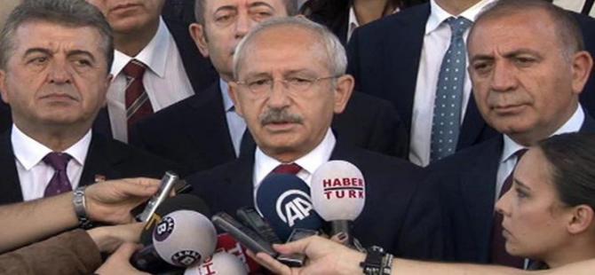Kılıçdaroğlu: ''Türkiye Avrupa'nın toplama kampı olamaz''