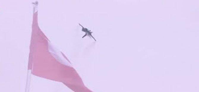 Müthiş gösteri: F-16'ya zeybek oynattılar!