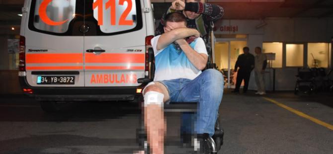 Taksim'de Rus turist bıçaklandı