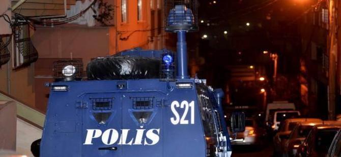 Okmeydanı'nda terör operasyonu: 1 polis yaralı