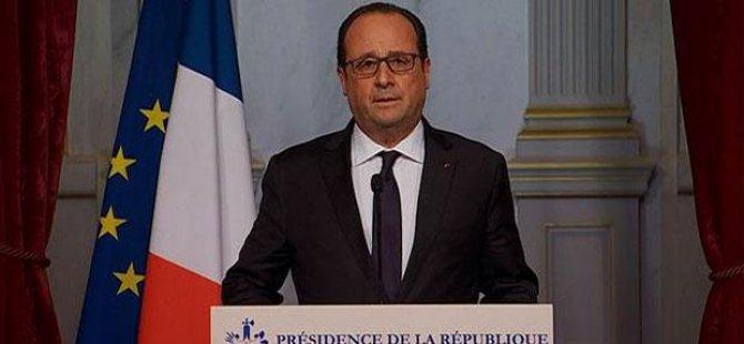 Hollande'dan açıklama