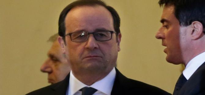 Hollande açıkladı: ''Saldırıları IŞİD düzenlendi''