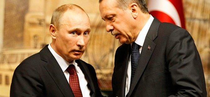 Erdoğan ile Putin dün gece yarısı bir araya geldi