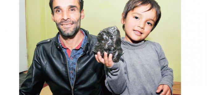 1 milyon lirayı aşan meteorit satışı yapıldı