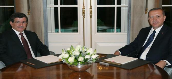 Cumhurbaşkanı Erdoğan, Davutoğlu ile görüşecek