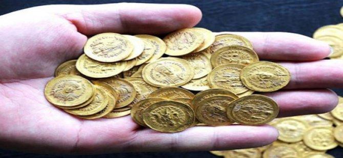 2 bin yıllık altın sikke bulunudu