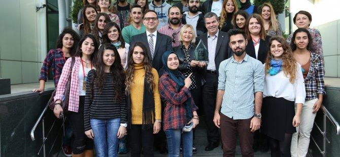 Genç Bilim Elçileri Projesi'ne anlamlı ödül