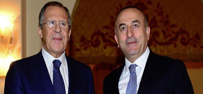 Lavrov'dan 'Çavuşoğlu' için açıklama