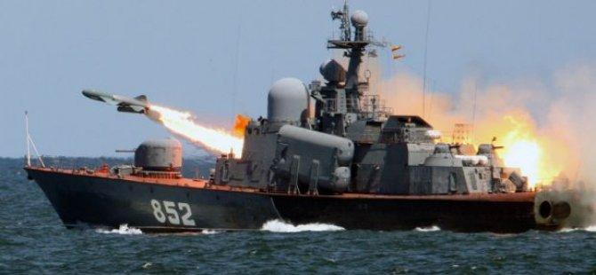 Ege'de sıcak gelişme: Ruslar ateş etti!