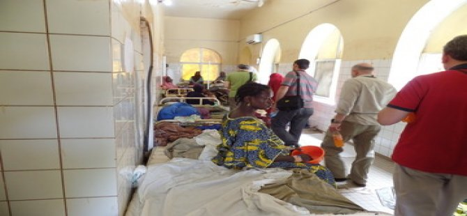 Deniz Fenerinden Nijer'e Sağlık Yardımı