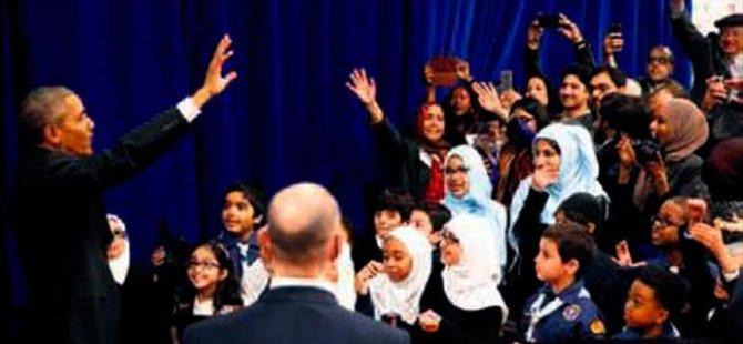 Obama, müslümanlara teşekkür etti!