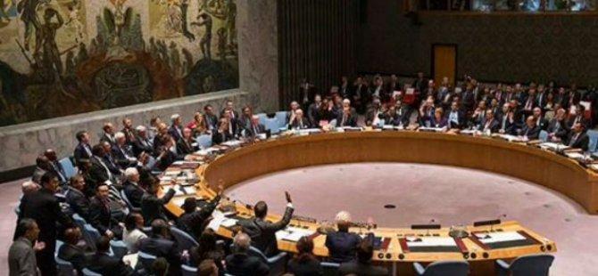 BM Güvenlik Konseyi: Türkiye top atışlarına son versin