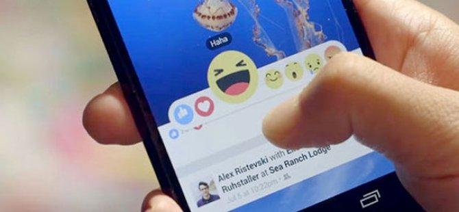 Facebook'ta Reaction dönemi başladı