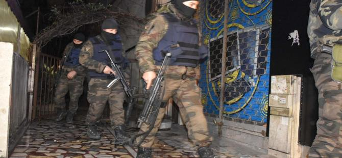 37 ilde operasyon: 834 kişi yakalandı