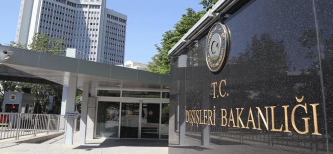 Dışişleri Bakanlığı'ndan Ermenistan açıklaması