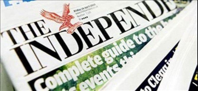 The Independent son kez basıldı