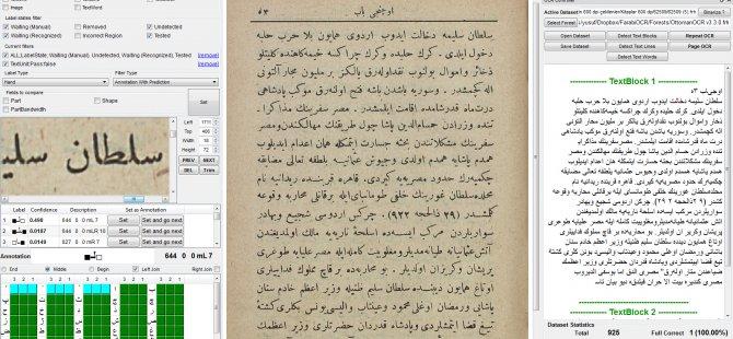 Osmanlıca eserler için yeni yazılım geliştirildi