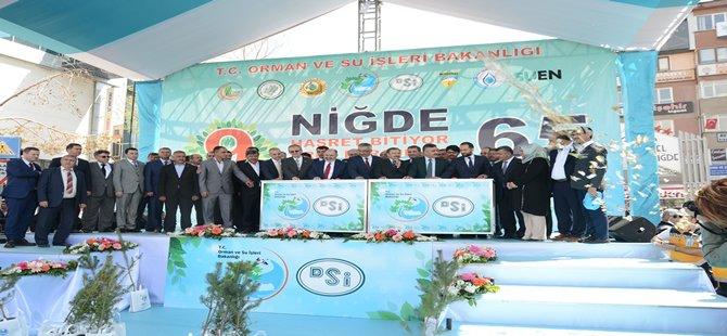 65 milyon TL değerinde 9 tesisin temeli atıldı