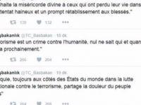 Fransa'daki saldırı için Türkiye'den tepki