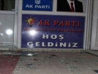 AK Parti Muradiye ilçe binasına bombalı saldırı