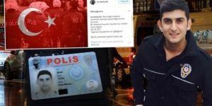 Ortaköy'de şehit polisin son paylaşımı