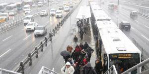 Meteoroloji'den son dakika uyarısı! İstanbul'da kar sürprizi
