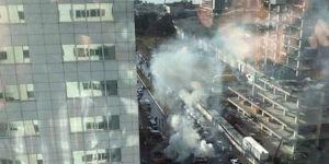 Patlamadan ilk görüntüler